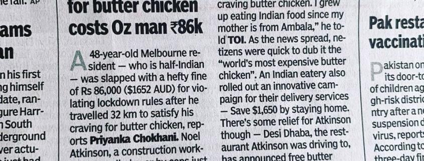 Mr Butter Chicken